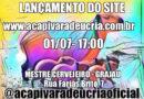 """LANÇAMENTO DO SITE DA """"A CAPIVARA DEU CRIA"""